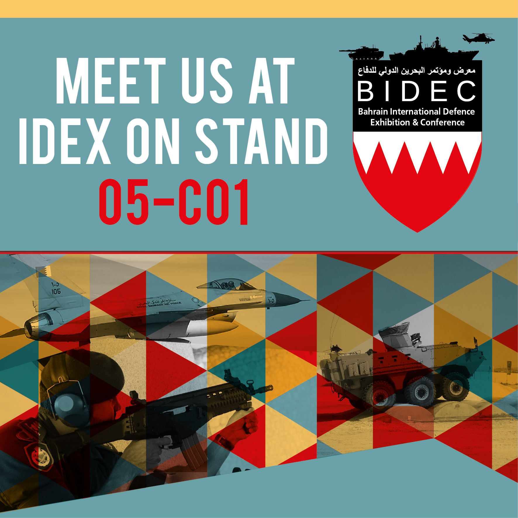 BIDEC team to attend IDEX 2021, Abu Dhabi