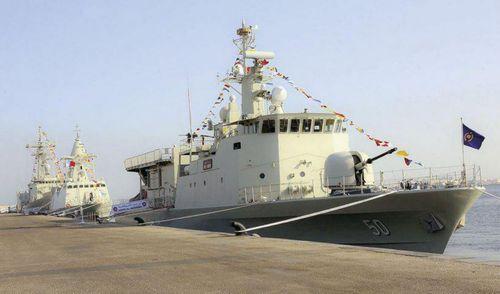 Bahraini corvette upgrade completed
