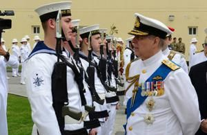 New Royal Navy operations hub opens in Gulf