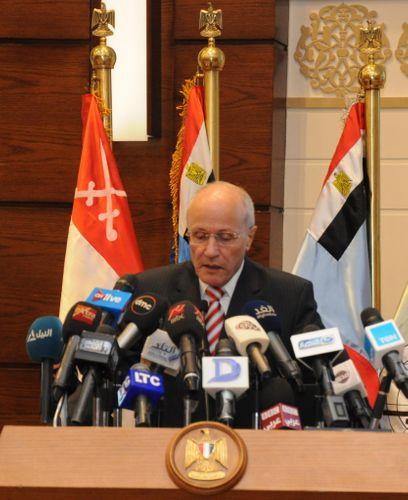 Egypt's military production minister meets Brazilian ambassador
