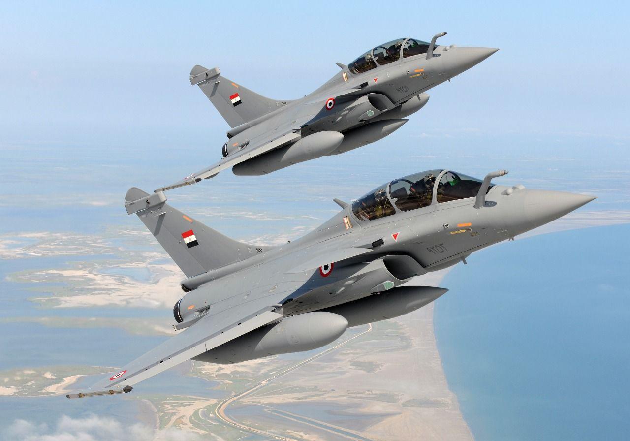 القوات الجوية المصرية والفرنسية تنفذان تدريبا بمشاركة طائرات متعددة المهام