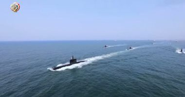 لقاعدة الإسكندرية (S-44) وصول الغواصة