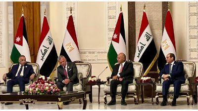 الرئيس السيسي يشارك في اجتماع رباعي في بغداد