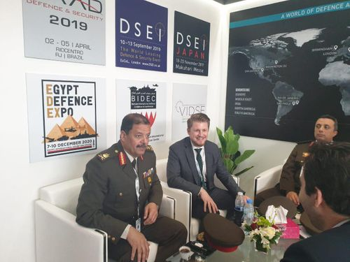 EDEX team visits IDEX 2019