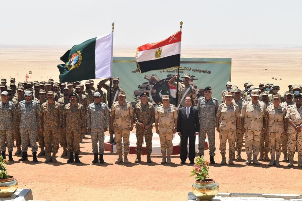 Pakistan-Egypt joint air defence exercise 'Sky Guards-1' concludes