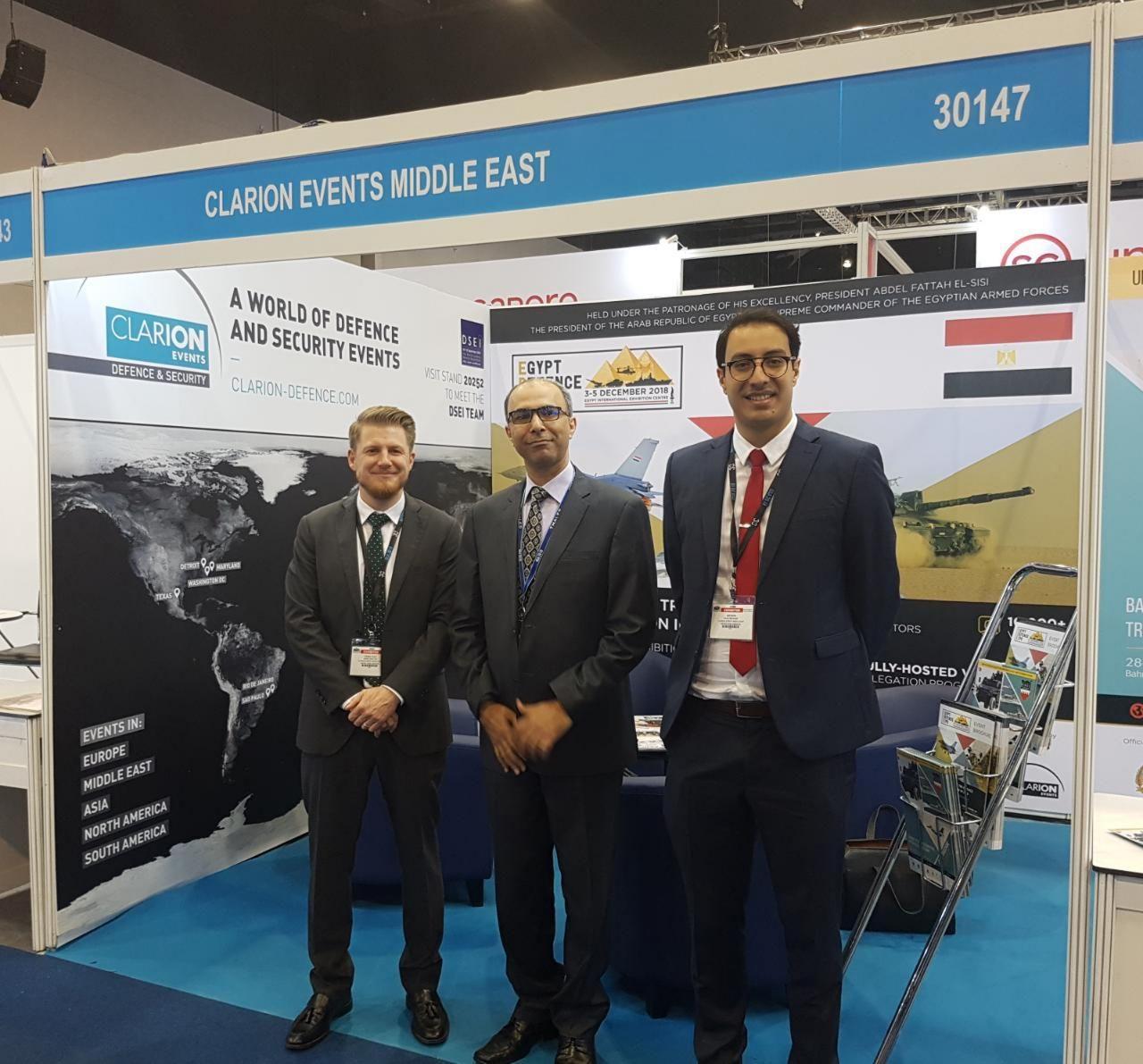 EDEX team visit DSA with Egyptian Delegation