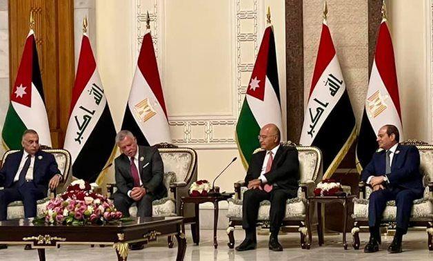 Egypt, Iraq, Jordan summit promises strategic partnership bringing security, prosperity