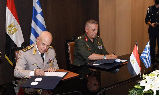 Egypt, Greece sign cooperation protocol on military education