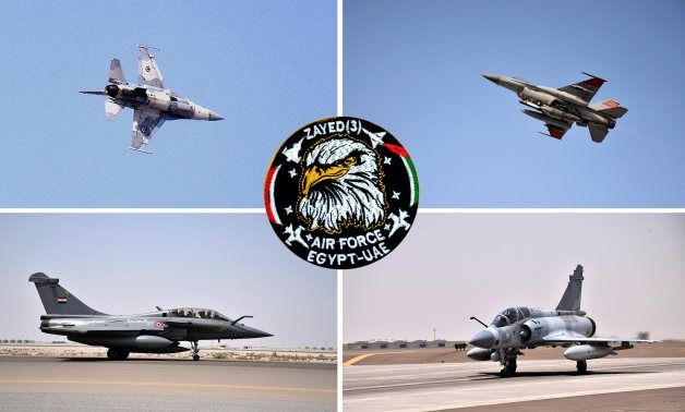 Egyptian, Emirati commanders witness Zayed-3 joint air trainings