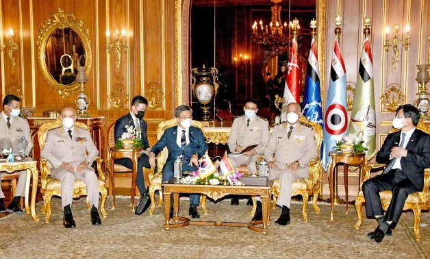 Egypt's defense minister stresses keenness to expand military cooperation with S. Korea