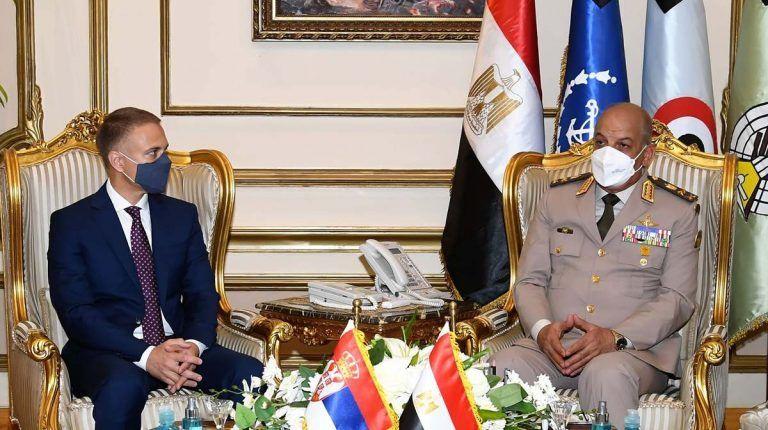Cairo, Belgrade sign military cooperation protocol