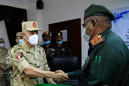 Egypt, Sudan to strengthen military pact