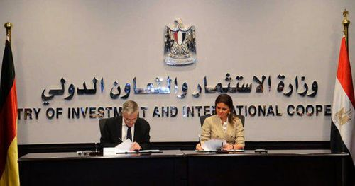 Egypt and Germany sign a 1.6bn euro development deal