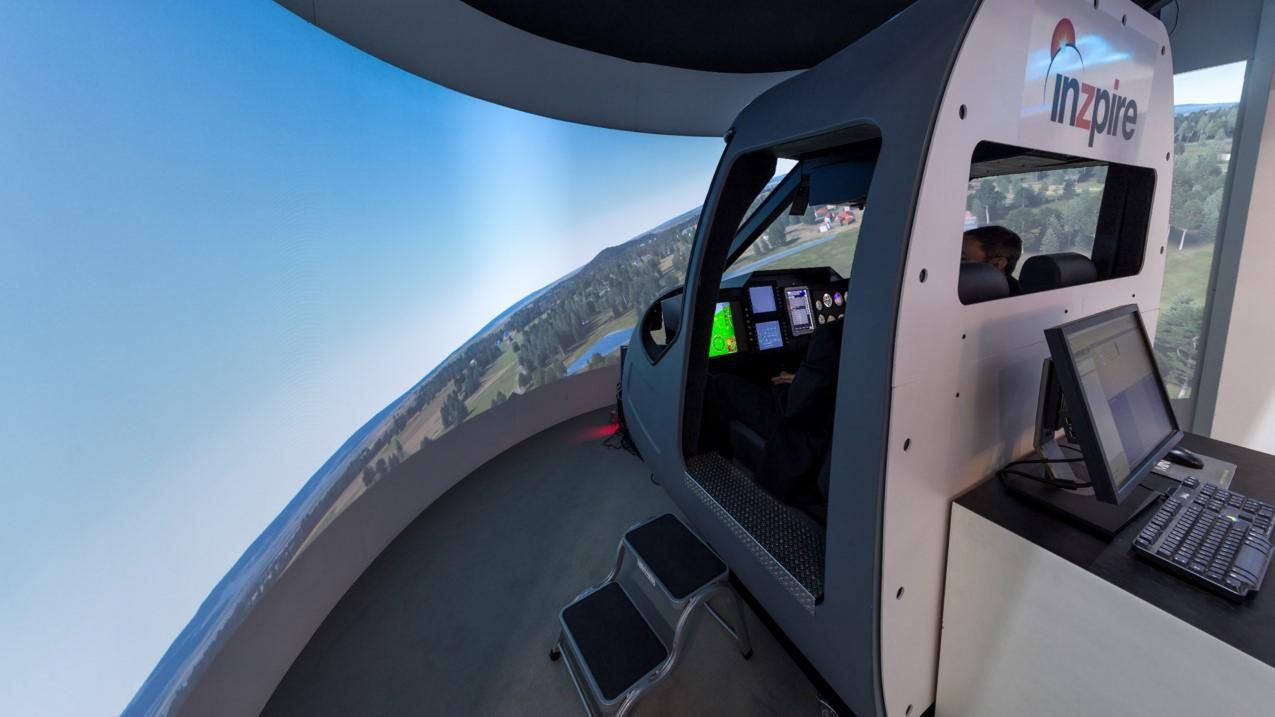 Inzpire's Targeted Fidelity Simulator to Deliver Immersive Training