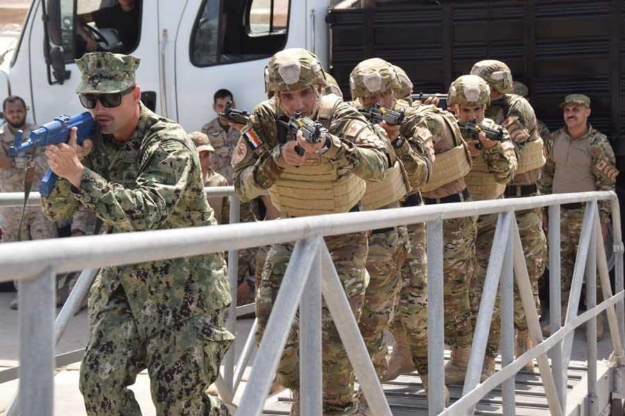Egyptian-American joint training exercise Eagle Response 2018 activities
