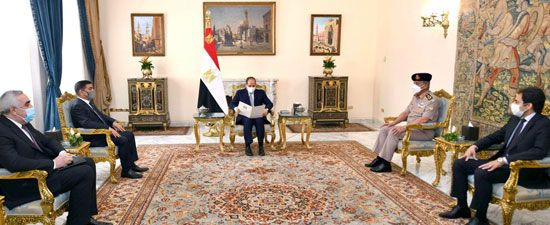 Sisi reaffirms keenness on boosting cooperation with Iraq