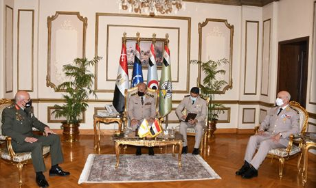Egypt's defence minister, army chief of staff discuss cooperation with Cypriot National Guard chief