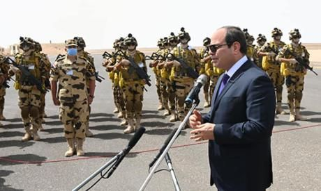 El-Sisi: Egypt's army is one of the strongest in the region; wise army that protects, doesn't threaten
