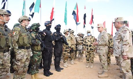 Six-nation military exercise in Egypt sees main stage