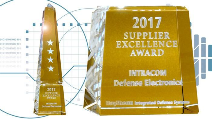 9th Consecutive Supplier Excellence Award to IDE by Raytheon