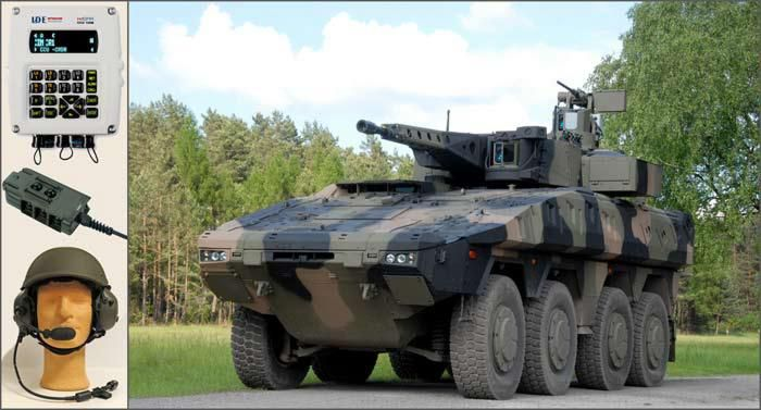 WiSPR Supply for BOXER Infantry Fighting Vehicle