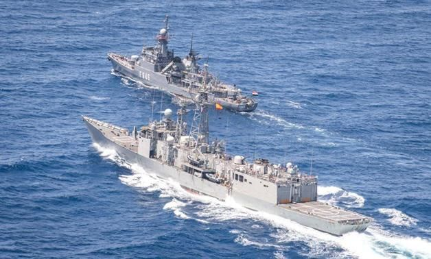 Joint Egyptian-Spanish naval exercise conducted in Red Sea