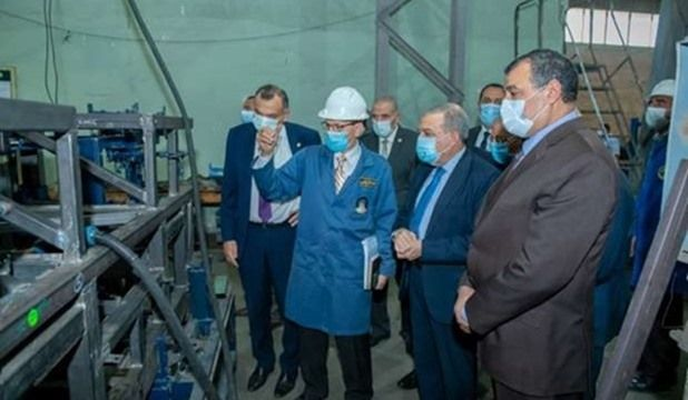 Military production minister inspects products to be shown at EDEX 2021