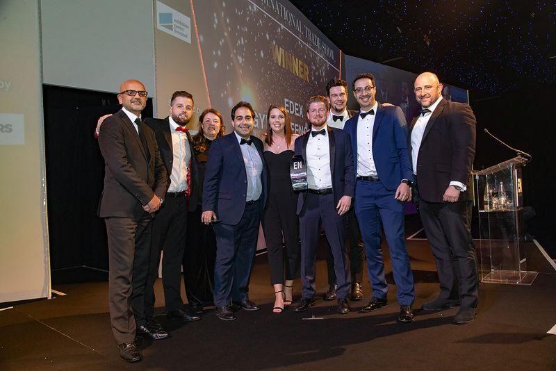 EDEX WINS BEST INTERNATIONAL TRADE SHOW AT LONDON AWARDS