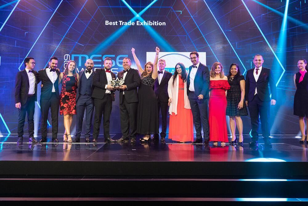 EDEX Wins BEST TRADE EXHIBITION at MESE Awards in Dubai