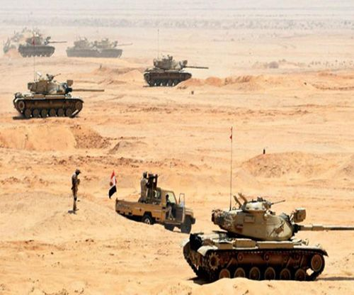 Egyptian Armed Forces Carry Out 'Badawi 2021' Training in Sinai