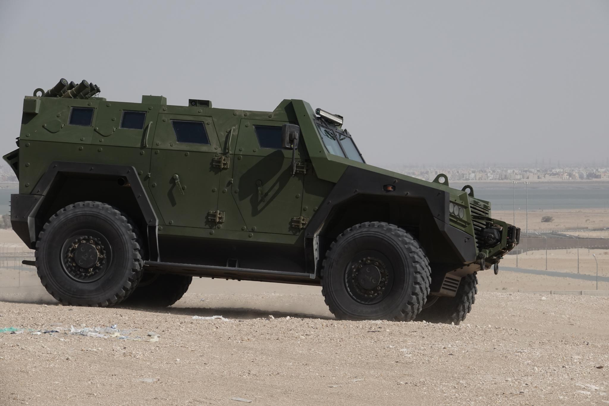 MILOS - Armoured multi-purpose combat vehicle 4x4