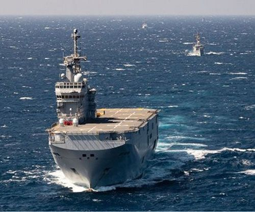Egypt, France Conclude Joint Naval Exercise in Red Sea
