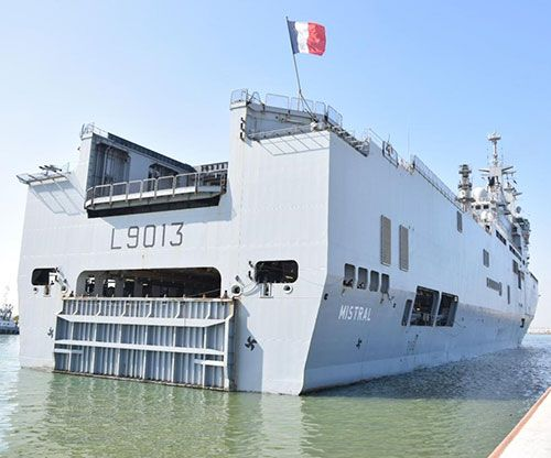 Egypt, France Hold Maritime Training Exercises in Mediterranean Sea