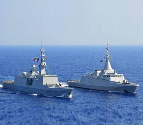 Egypt, France Conduct Naval Drills in Mediterranean Sea
