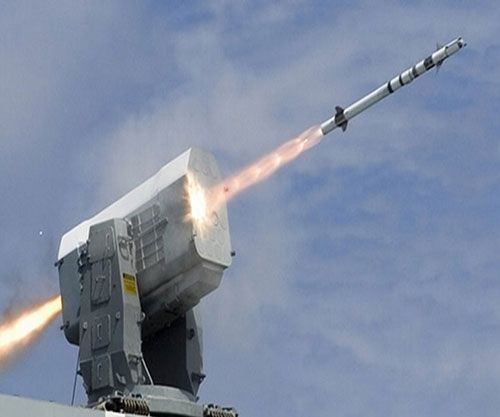 Egypt Orders Rolling Airframe Missiles (RAM) Block 2 Tactical Missiles