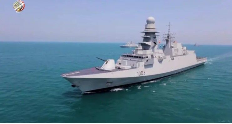 Second Italian-Built FREMM Delivered To Egypt Reaches Alexandria