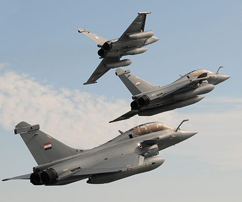 Egyptian, French Air Forces Conduct Joint Exercise