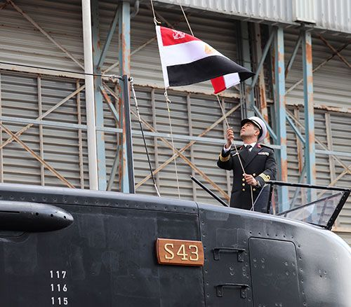 Egyptian Navy to Receive 4th Submarine from thyssenkrupp Marine Systems in 2021