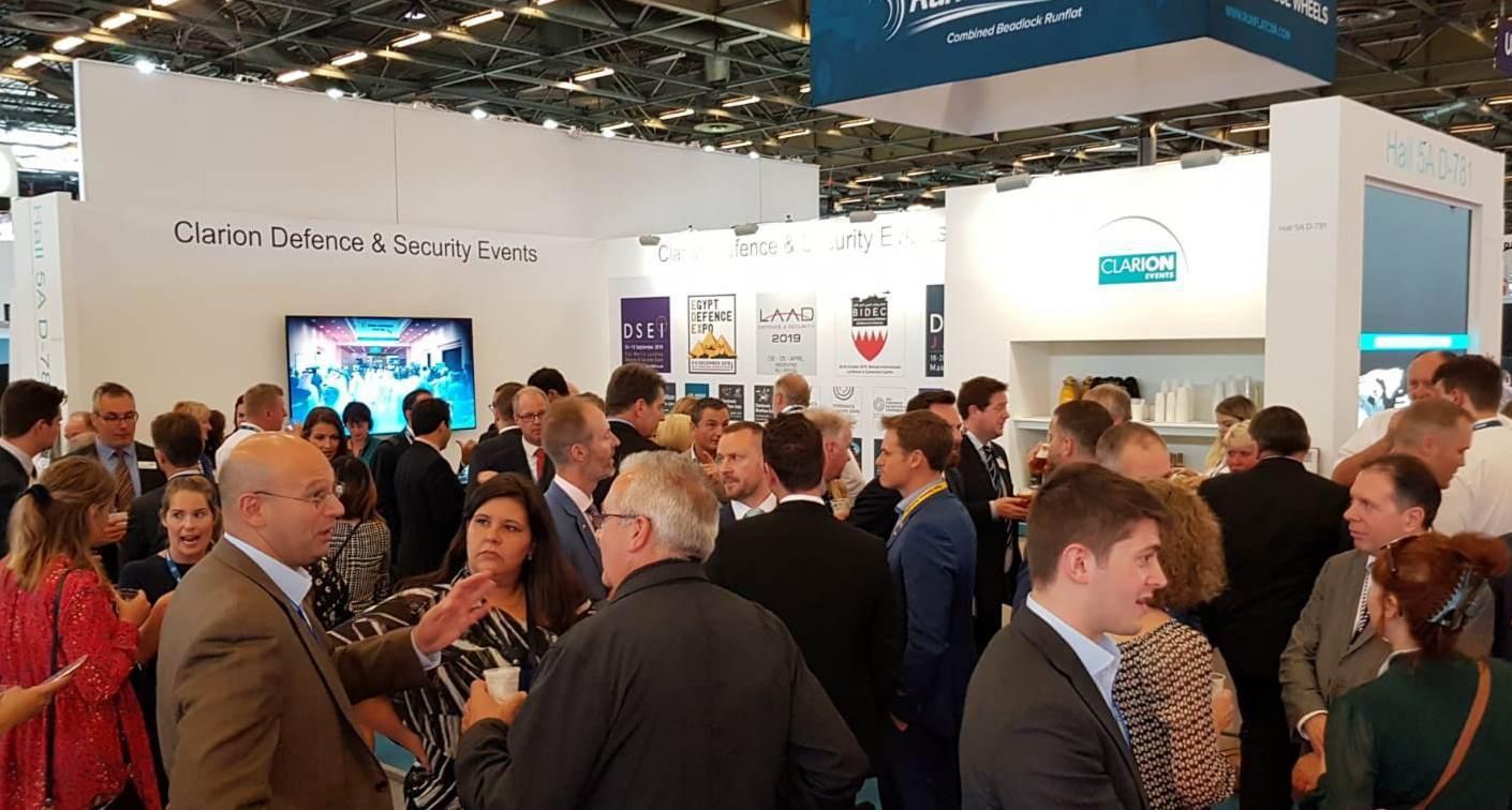 EDEX Team visit Eurosatory 2018 in Paris