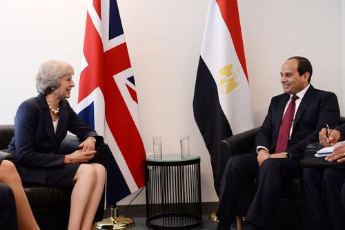 UK takes part in military exercise in Egypt