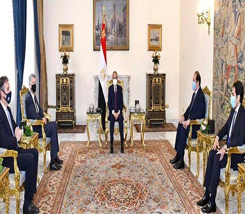Egyptian President Receives Chief of UK's Secret Intelligent Service