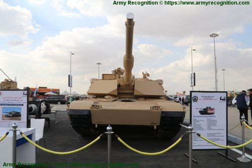 EDEX 2018: Egypt locally produced 1,200 M1A1 Abrams main battle tanks
