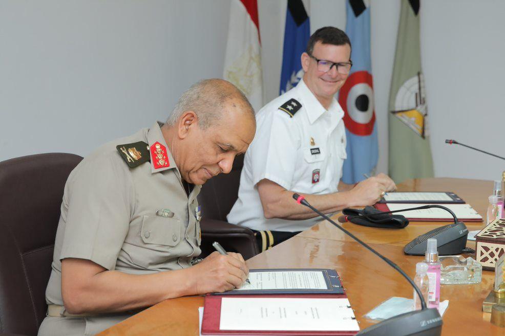 United States and Egypt Sign Military Logistics Cross Servicing Memorandum of Understanding