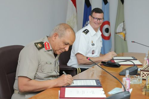 United States and Egypt Sign Military Logistics Cross Servicing Memorandum of Understanding