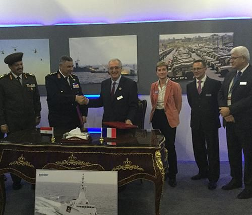Naval Group, Egyptian Navy Sign 5-Year Support Agreement