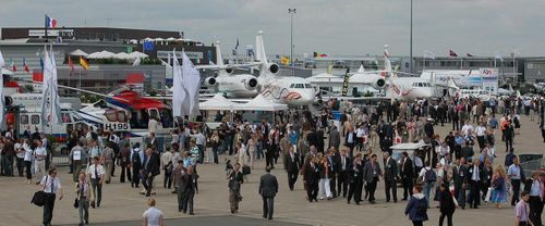 EDEX team attend Paris Air Show