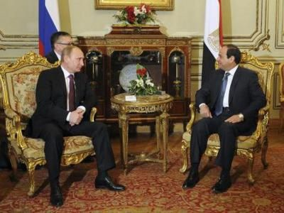 Russia and Egypt strengthen military relations