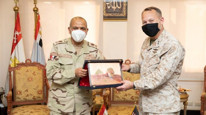 US Central Command official visits Egypt to discuss bilateral defence relations