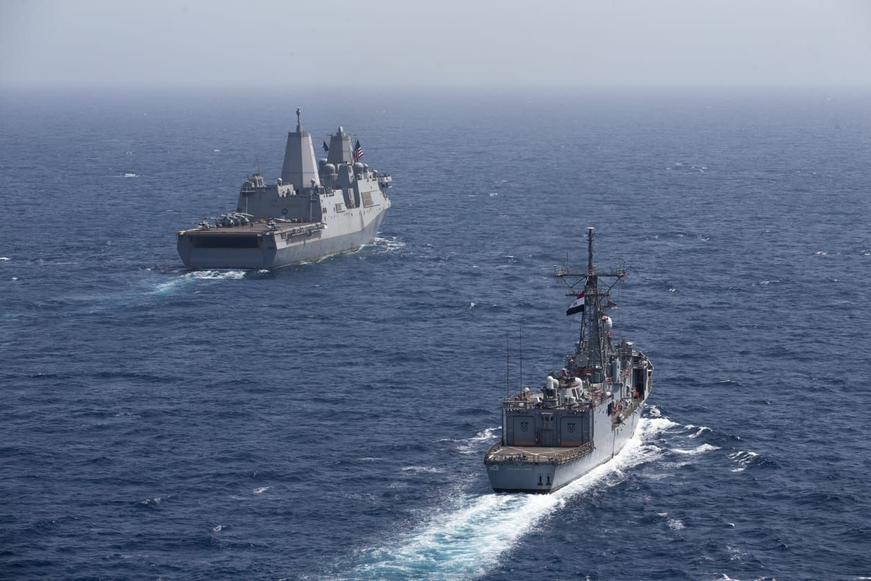 Egypt, US naval forces conduct joint exercise in Red Sea