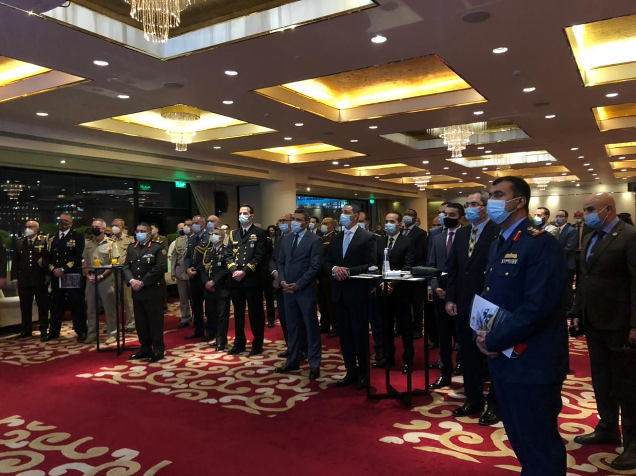 Over 100 military and government attendees join briefing for EDEX 2021 in Cairo